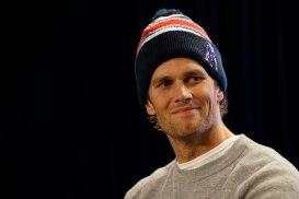 USP NFL: NEW ENGLAND PATRIOTS-TOM BRADY PRESS CONF S FBN USA MA